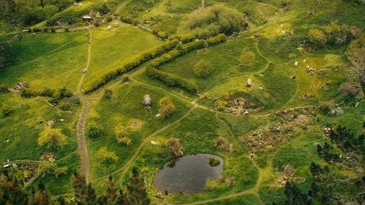 hobbiton bird view